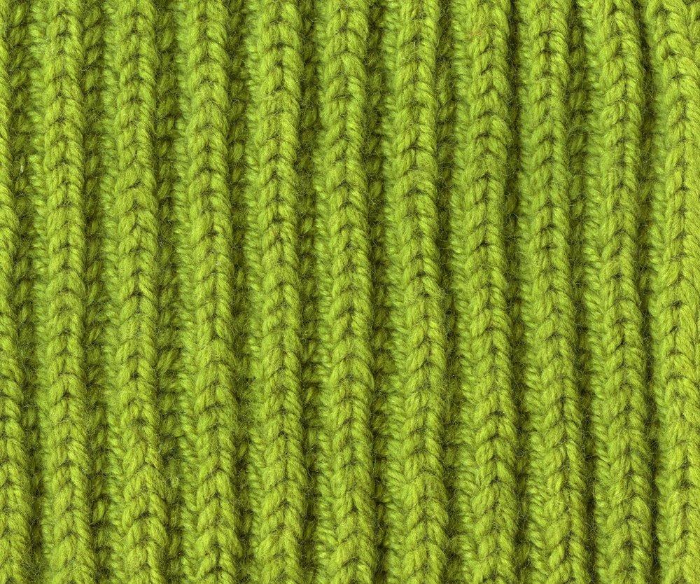 петли вязанного шарфа