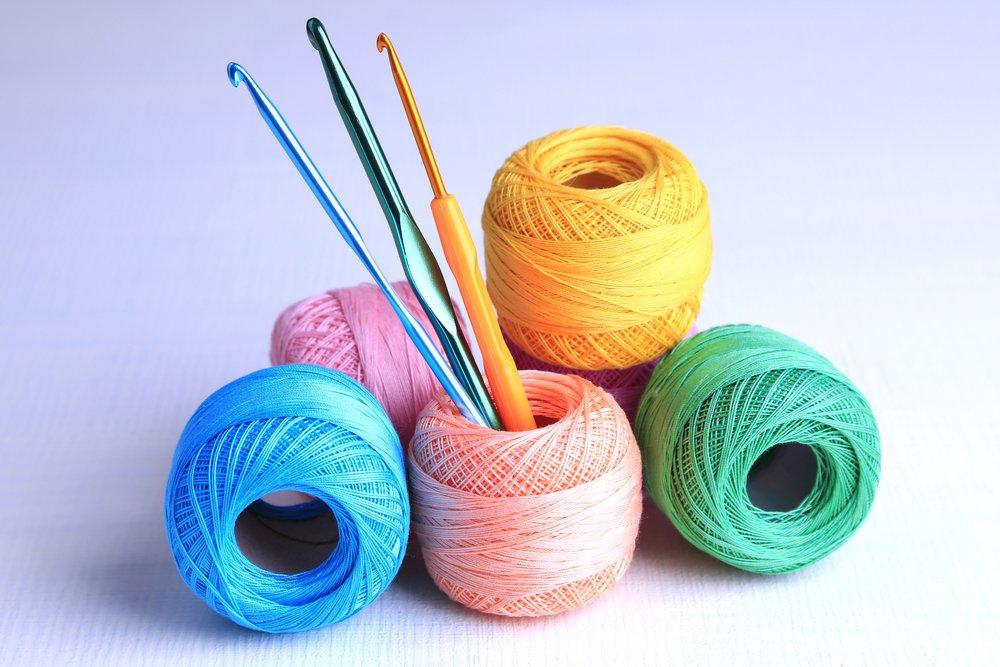 Техника вязания филейным способом