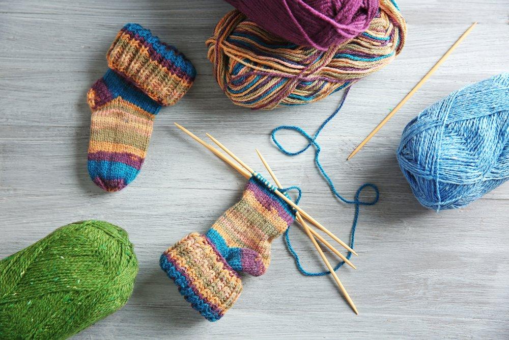 Цветные секционные нитки