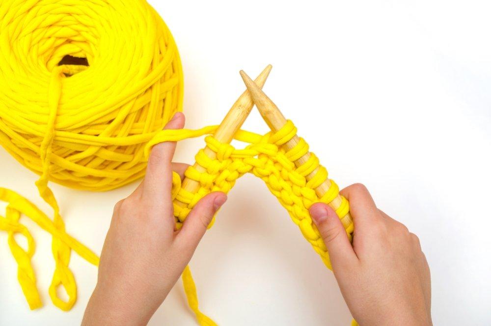 Вязание спицами из толстой пряжи